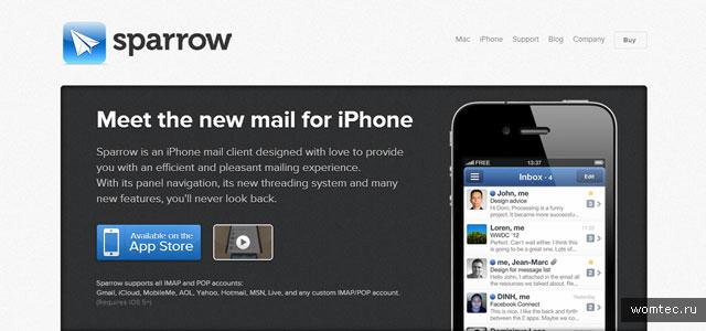 Дизайн сайтов для мобильных приложений