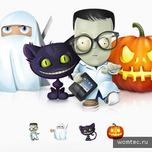 Бесплатные иконки на Хэллоуин
