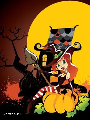 Бесплатные векторные картинки на Хэллоуин