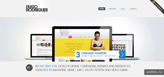 Сайты-портфолио дизайнеров
