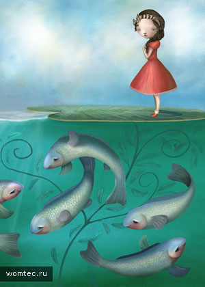 Сказочные рисунки и иллюстрации