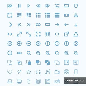 Бесплатные наборы иконок