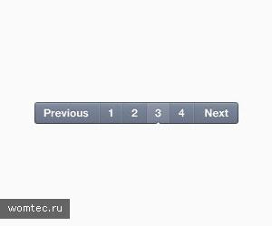 Переключатели страниц или пагинаторы в psd