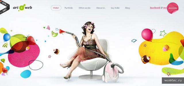 Примеры дизайна сайтов на HTML5