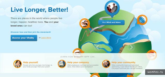 Иллюстрации в веб-дизайне