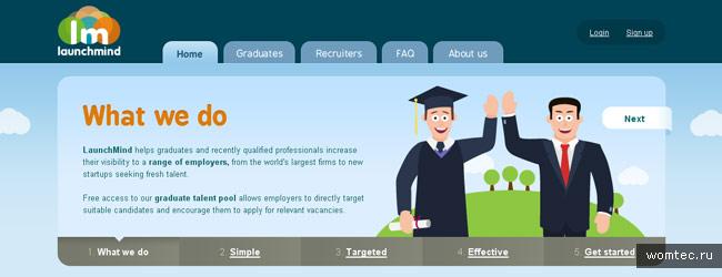 Jquery слайдер в дизайне сайта