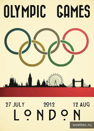 Арт-работы Олимпийских игр в Лондоне