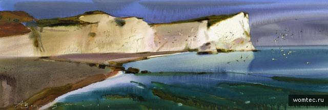 Волшебство акварельной живописи