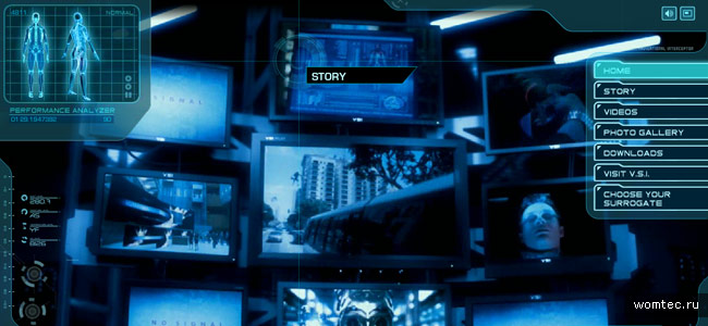 Дизайн кино-сайтов