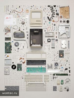 Фотографии техники изнутри