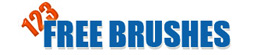 123 Free brushes