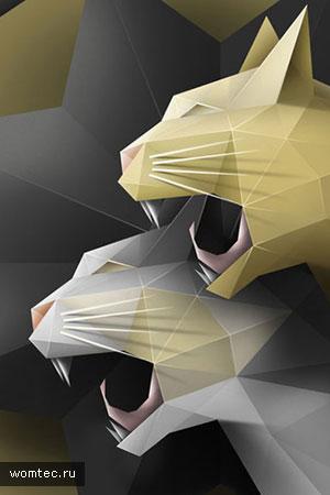 Полигональные иллюстрации