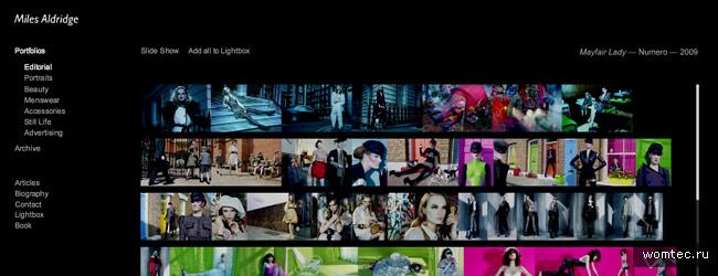 Лучшие сайты профессиональных фотографов