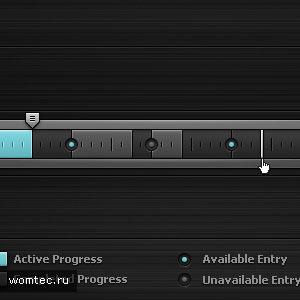 Прогресс-бар в дизайне