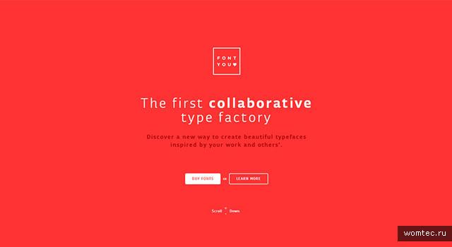 Красный цвет в дизайне сайта