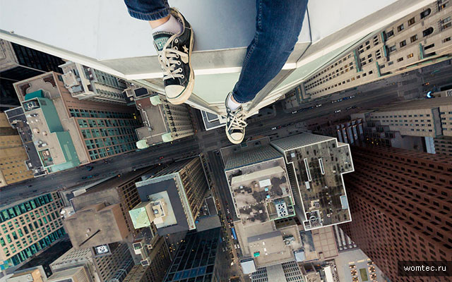 Городские фотографии с крыш