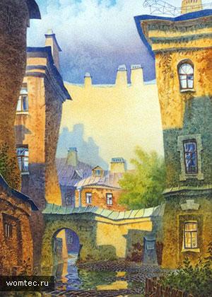 Санкт-Петербург в акварельных красках