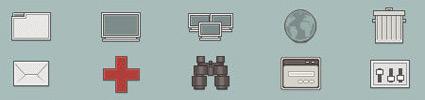 Retrofukation Pixel Icons