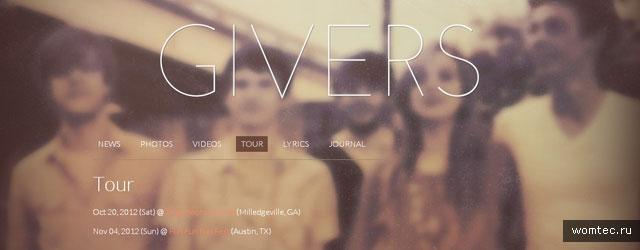 Сайты музыкантов и музыкальных групп