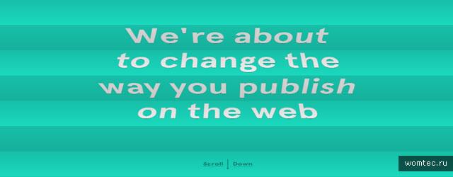 Сайты со всплеском и динамикой