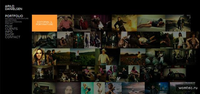 Сайт для фотографа