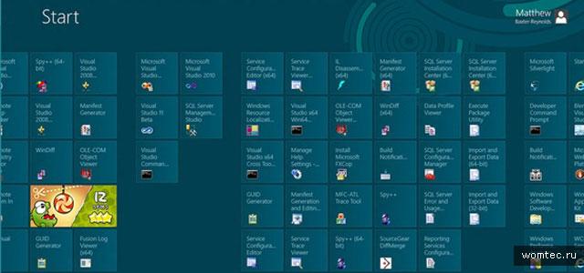 Шрифт в интерфейсе Windows 8