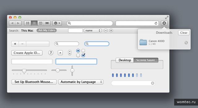 Psd-шаблоны интерфейсов