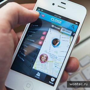 Вертикальная навигация в мобильном интерфейсе